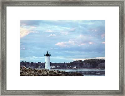 Portsmouth Harbor Light Framed Print by Eric Gendron