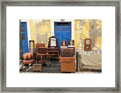 Portugal, Aveiro Framed Print by Emily Wilson