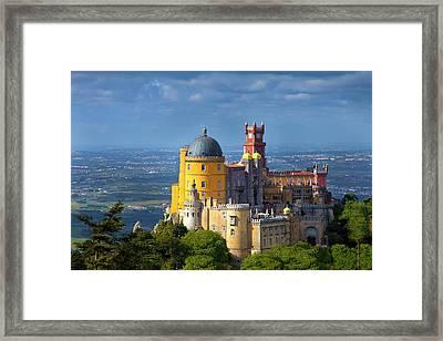 Portugal, Sintra Framed Print