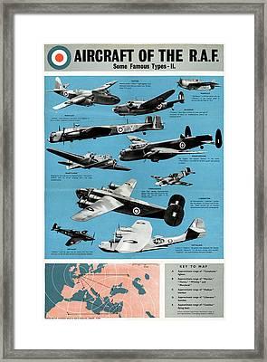 Poster Royal Air Force Framed Print by Granger