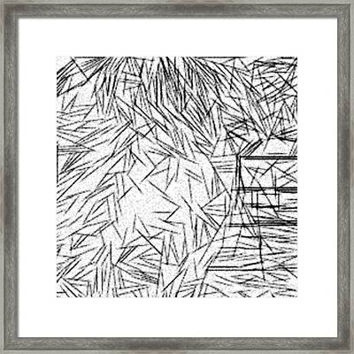 Postmodern Abstraction Framed Print by Jonathan Harnisch