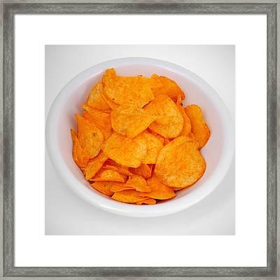 Potato Chips Framed Print