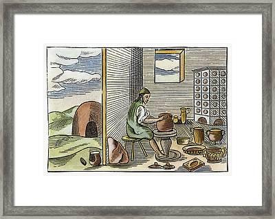 Potter, 1659 Framed Print