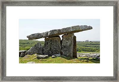 Poulnabrone Dolmen Framed Print by Clouds Hill Imaging Ltd