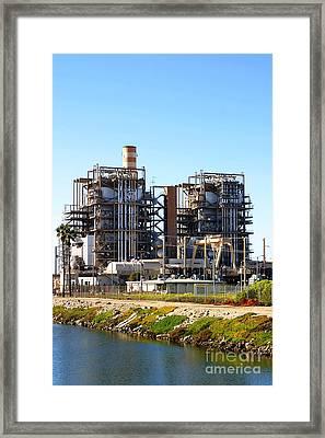 Power Plant Framed Print by Henrik Lehnerer