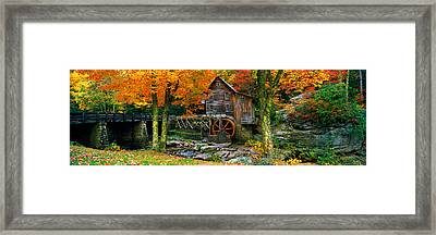 Power Station In A Forest, Glade Creek Framed Print