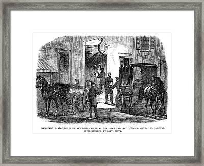 Presidential Election, 1864 Framed Print by Granger