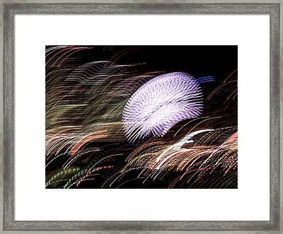 Framed Print featuring the photograph Pretty Little Cosmo - 8 by Larry Knipfing