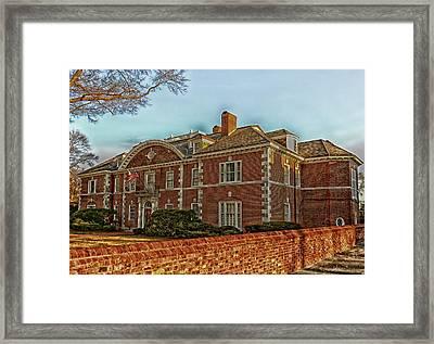 Princeton's Historic Eating Club Framed Print
