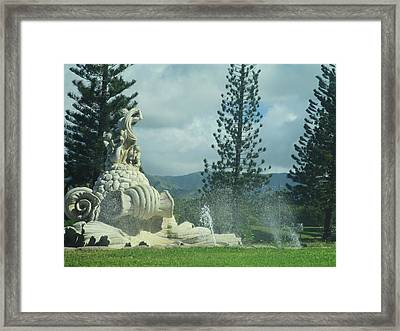Framed Print featuring the photograph Princeville by Alohi Fujimoto