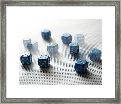 Probability Framed Print by Robert Brook