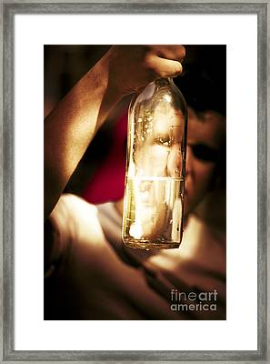 Problems Framed Print by Jorgo Photography - Wall Art Gallery