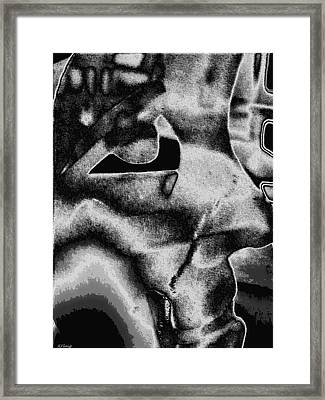 Processing Life Framed Print by Rebecca Flaig