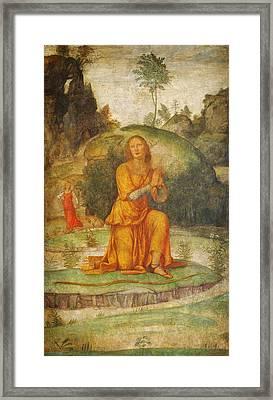 Procris Prayer To Diana Framed Print by Celestial Images