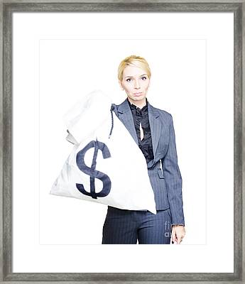 Profit And Loss Framed Print by Jorgo Photography - Wall Art Gallery