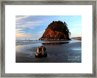Proposal Rock Framed Print