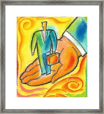 Protection  Framed Print by Leon Zernitsky
