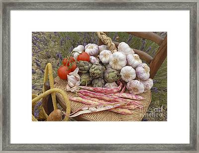Provence Produce Framed Print