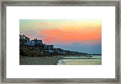 Provincetown Dawn Framed Print