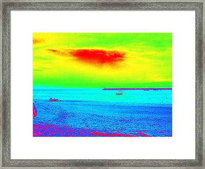 Provincetown Harbor Framed Print by Mike McCool
