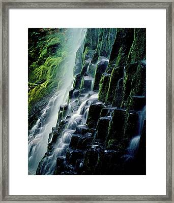 90128 Proxy Falls Framed Print