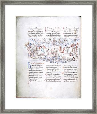 Psalm 103 Framed Print by British Library