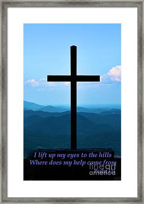 Psalm 121 Framed Print by Bob Sample