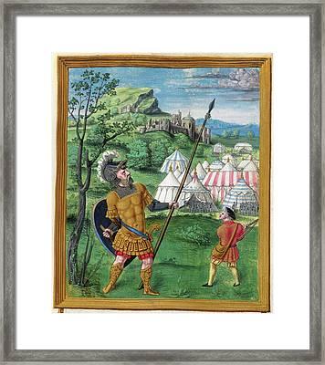Psalter Of Henry Viii Framed Print