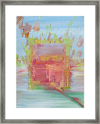 Psychedelic Object Framed Print by Fabrizio Cassetta