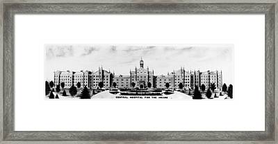 Psychiatric Hospital Framed Print