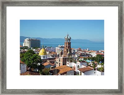 Puerto Vallarta, Jalisco, Mexico Framed Print
