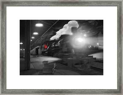 Pulling Out Framed Print
