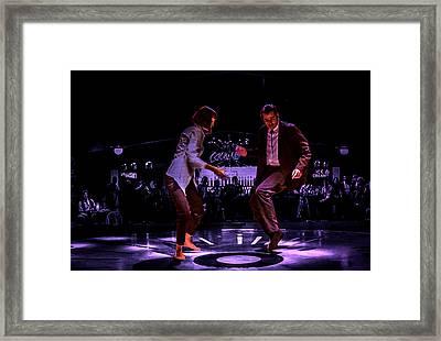 Pulp Fiction Dance 3 Framed Print