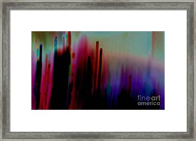 Framed Print featuring the photograph Pulse by Jacqueline McReynolds