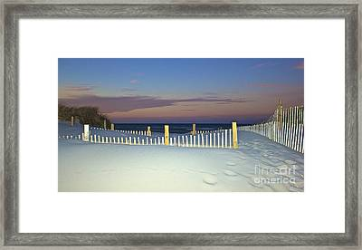 Purity Framed Print by Amazing Jules