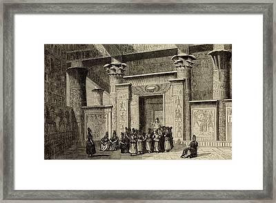 Pythagoras Framed Print by Universal History Archive/uig