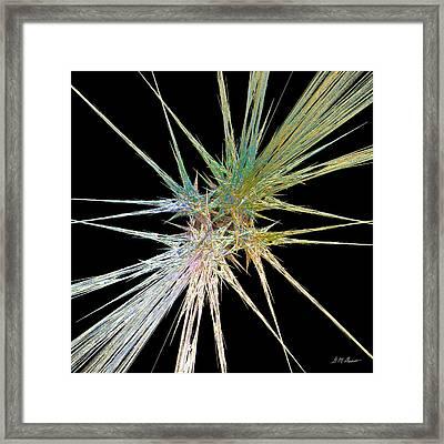 Quadstar Framed Print by Michael Durst