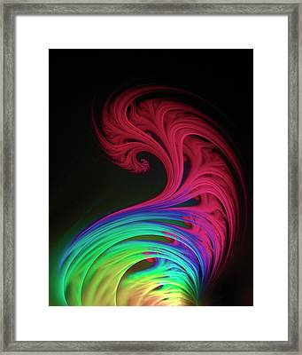 Quantum Chromodynamics Framed Print by David Parker