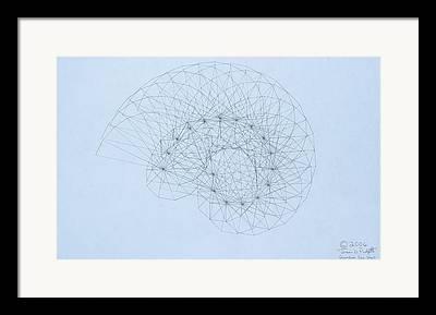 Fibonacci Drawings Framed Prints
