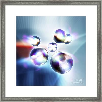 Quarks, 3d-computer Artwork Framed Print by Pasieka