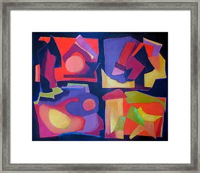 Quartet Framed Print