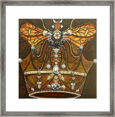 Queen Bee Chronicles Framed Print by Marie Howell Gallery