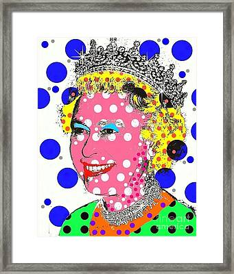 Queen Framed Print by Ricky Sencion