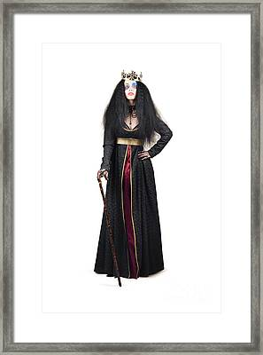 Queen With Walking Stick Framed Print by Jorgo Photography - Wall Art Gallery