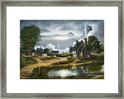 Quiet Life Framed Print