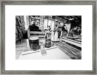 quilmes stout at irish pub and restaurant Ushuaia Argentina Framed Print