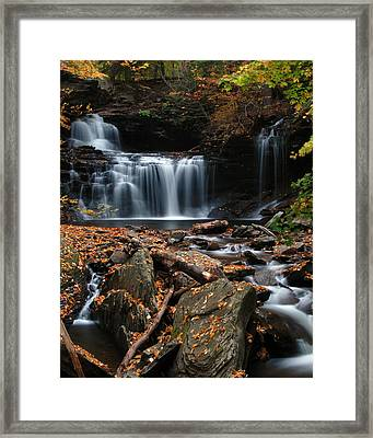 R. B. Ricketts Falls Framed Print