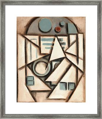 R2 Deco Art Print Framed Print