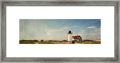 Race Point Light Framed Print by Bill Wakeley