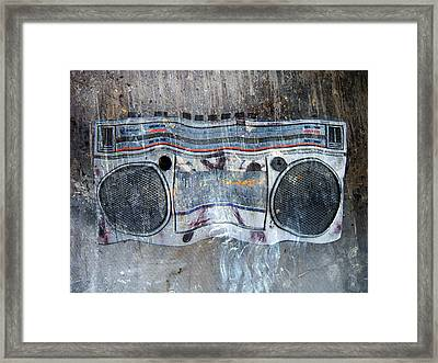 Radio Gaga Framed Print